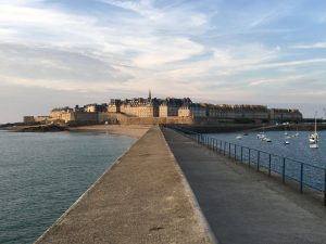 St. Malo on the Brittany coast of France